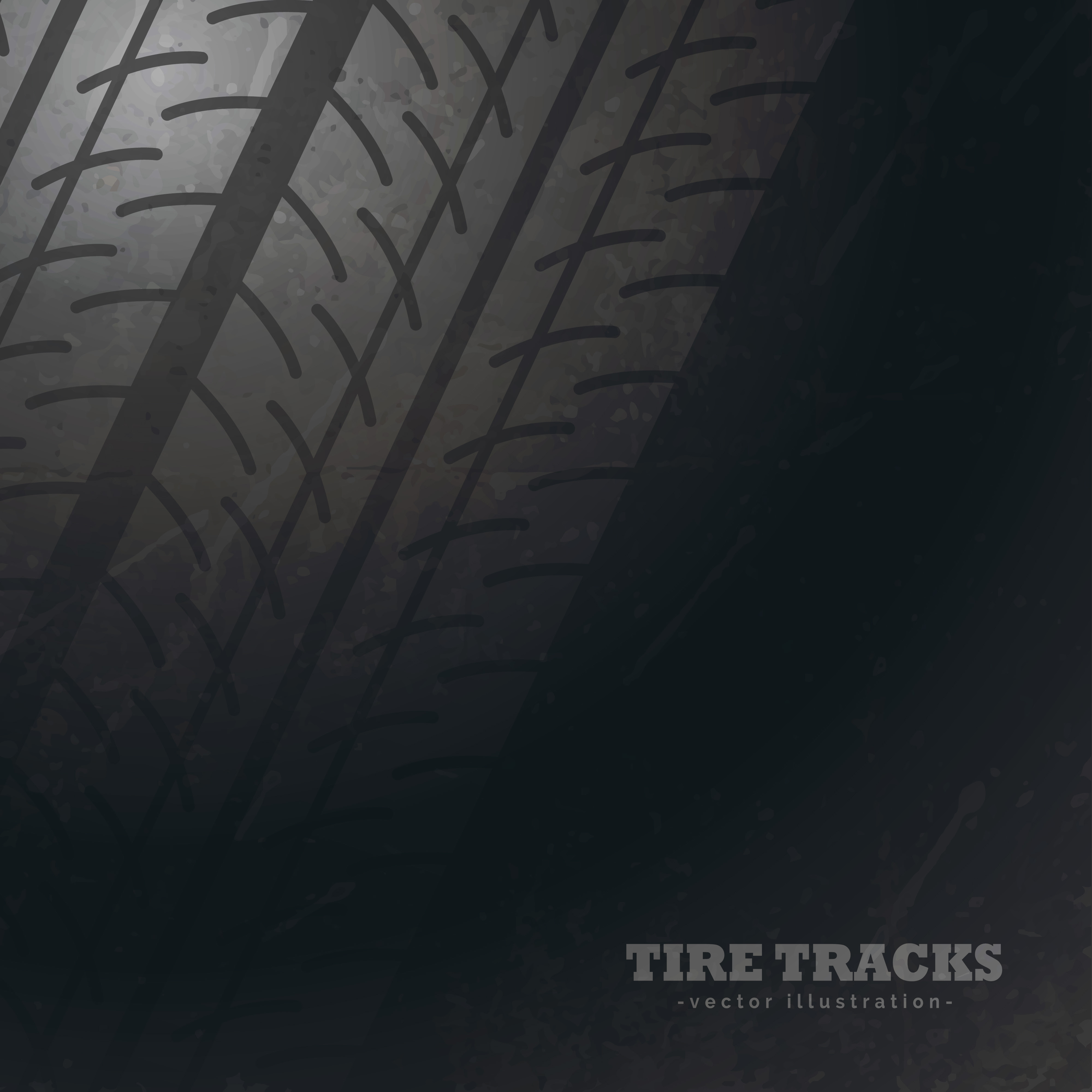Dark Background With Tire Tracks Marks Download Free Vector Art Stock Graphics Images