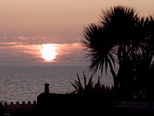 Amanecer en Eastbourne