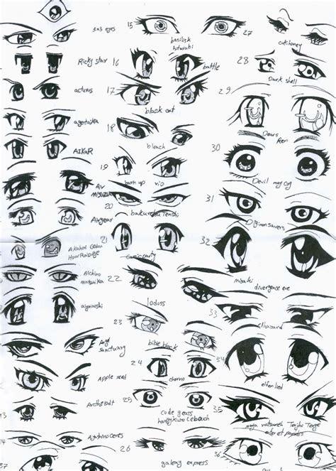 draw anime eyes    bees