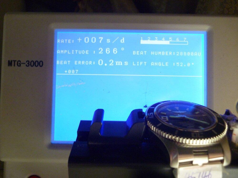 Breitling Watch Movement Test