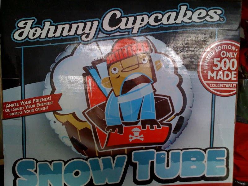 Johnny Cupcakes Melrose snow tube