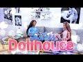 vintage living room dollhouse