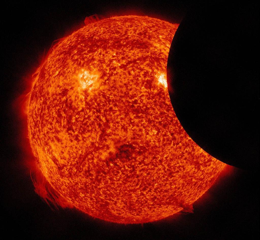 O Sol é o único objeto no universo que contraria as leis da termodinâmica  (Foto: wikimedia commons)