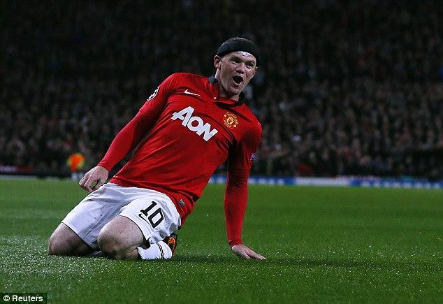 Rooney celebrates