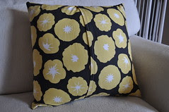 Madrona Road Pillow ~ Back