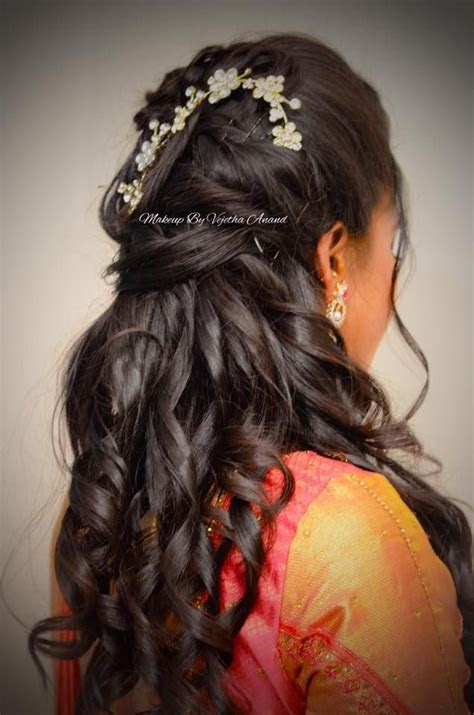 348 best images about Wedding Hairstyles (Indian) by