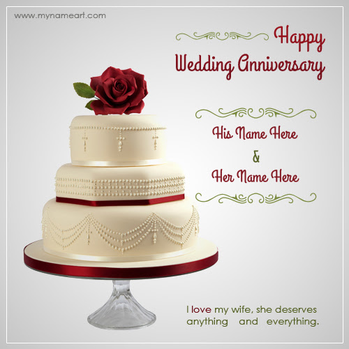 Charming Style 16 Wedding Anniversary Greeting Cards With Name