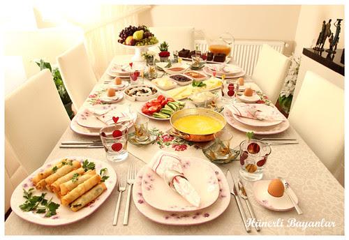 Ülkü'nün Kahvaltı Sofrası (2)