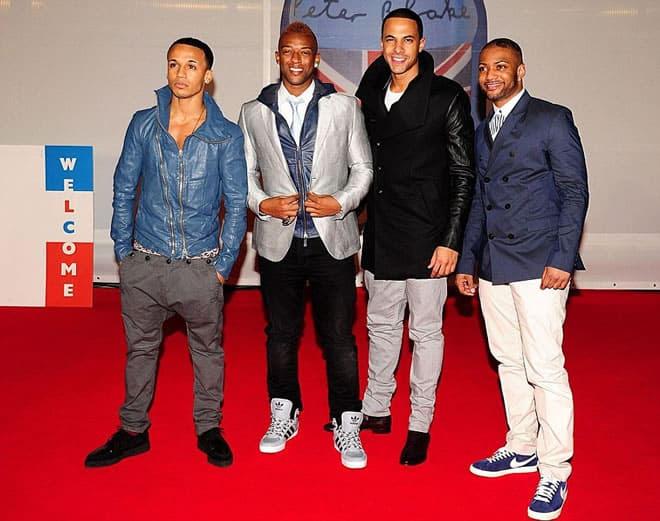 JLS Brit Awards 2012 Red Carpet