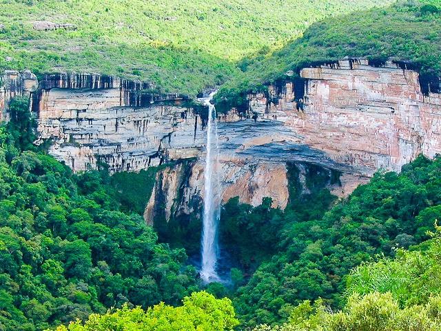Cachoeira do Corisco em Senges Paraná
