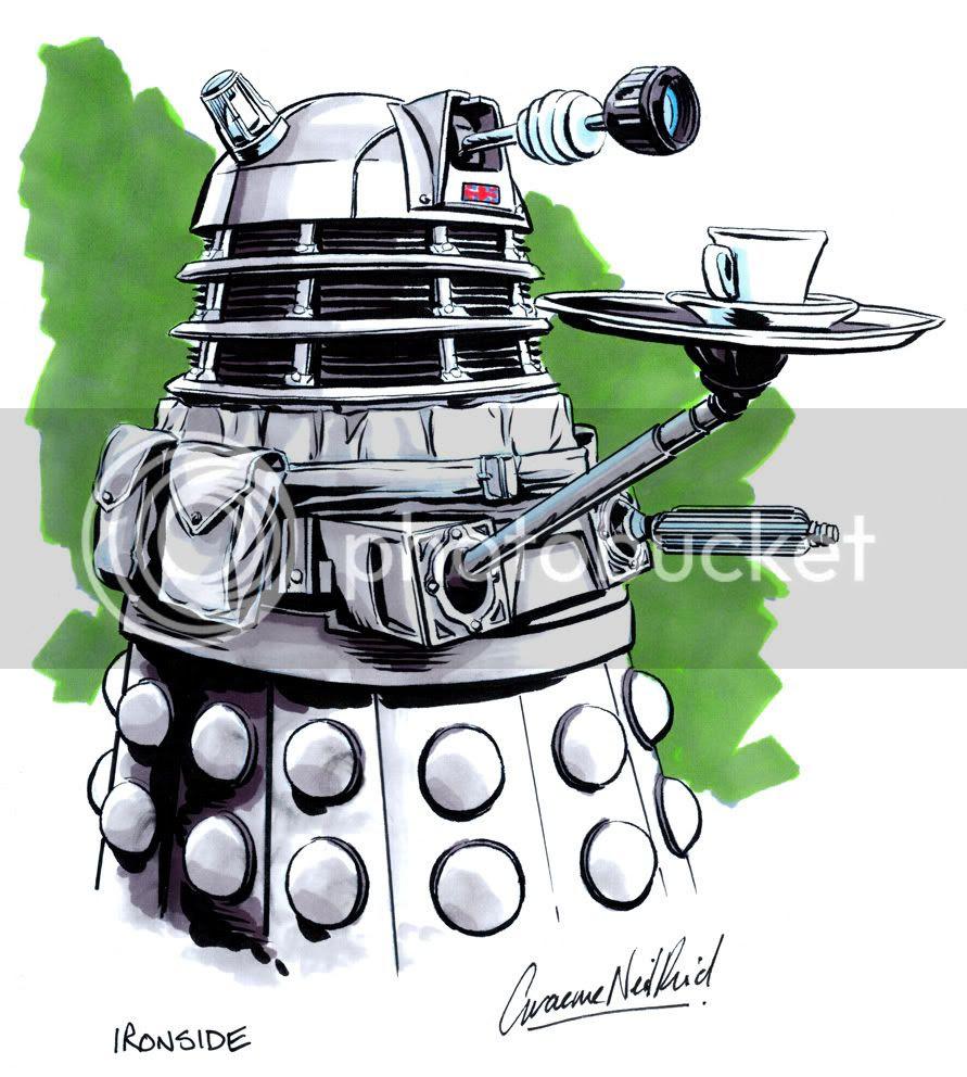 Graeme Neil Reid,Illustration,Ironside,Doctor Who,Dalek