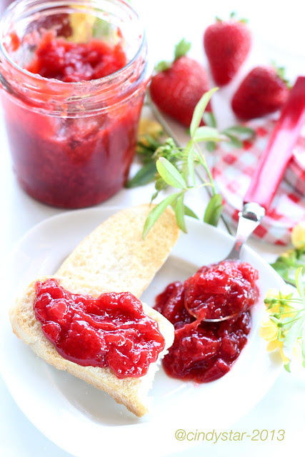confettura fragole senza zucchero