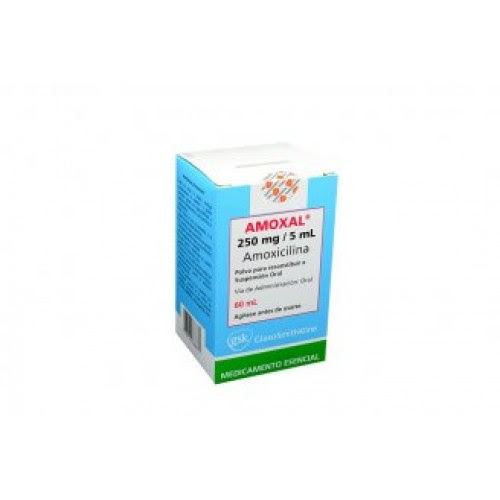 Amoxal 250 Mg Suspension 60 Ml
