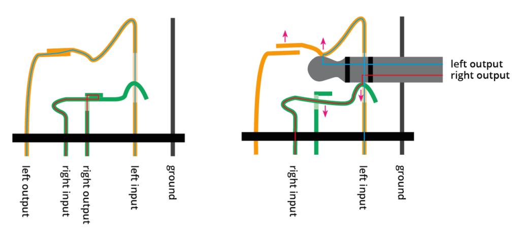 3 Pole Headphone Jack Wiring Diagram