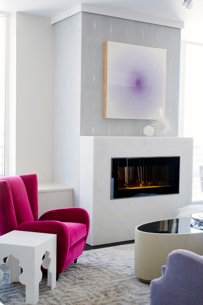 Pretty Dimplex Electric Fireplaces In Living Room Contemporary With
