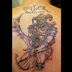 Warrior Tattoo Meanings Itattoodesignscom