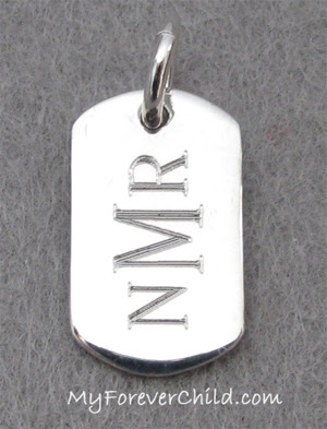Mini Dog Tag Engravable Charm