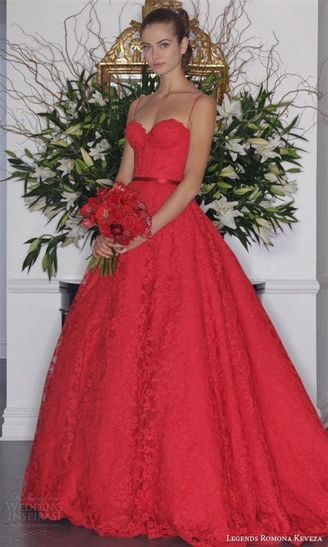 Legends Romona Keveza Fall 2016 Wedding Dresses   Colored