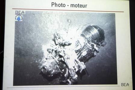 Imagens de destroços do Voo 447 foram divulgadas por autoridades francesas