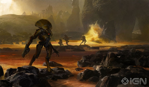 Alguns inimigos de Destiny (Foto: Reprodução/IGN)
