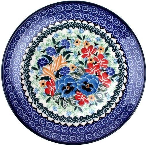 Ceramika Artystyczna Dinner Plate U2512 Signature The Bramble Patch