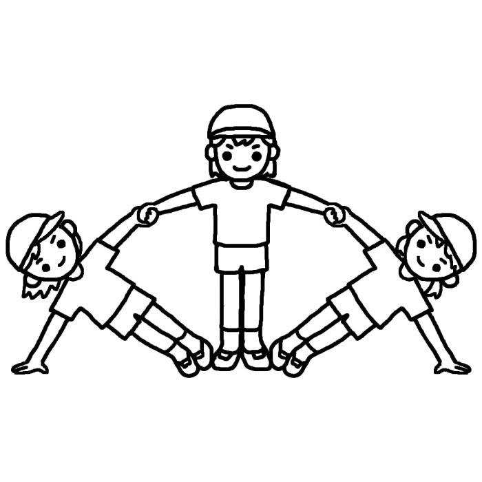 運動会2大きな行事学校無料イラストみさきのイラスト素材