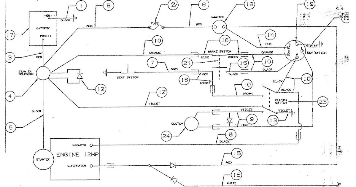 19 Best Mtd Ignition Switch Diagram