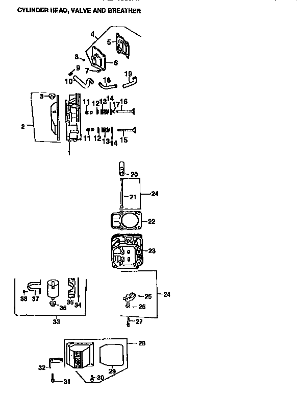 28 Kohler Cv25s Parts Diagram