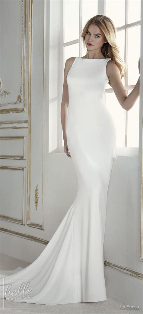 Simple Wedding Dresses Inspired By Meghan Markle ? Part 2