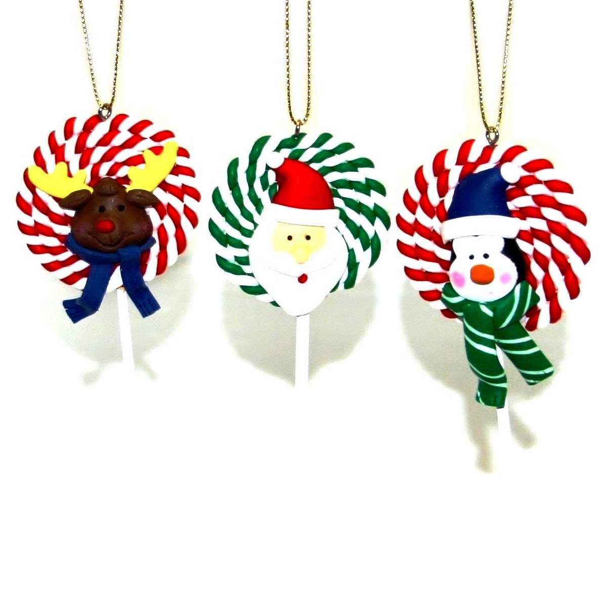 christmas tree decorations lollipops