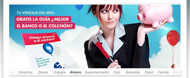 GRATIS LA GUÍA ¿MEJOR EL BANCO O EL COLCHÓN?