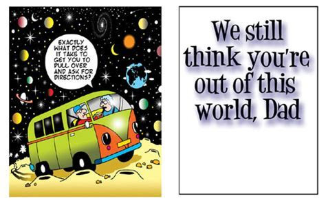 Out Of This World. Free For Your Dad eCards, Greeting
