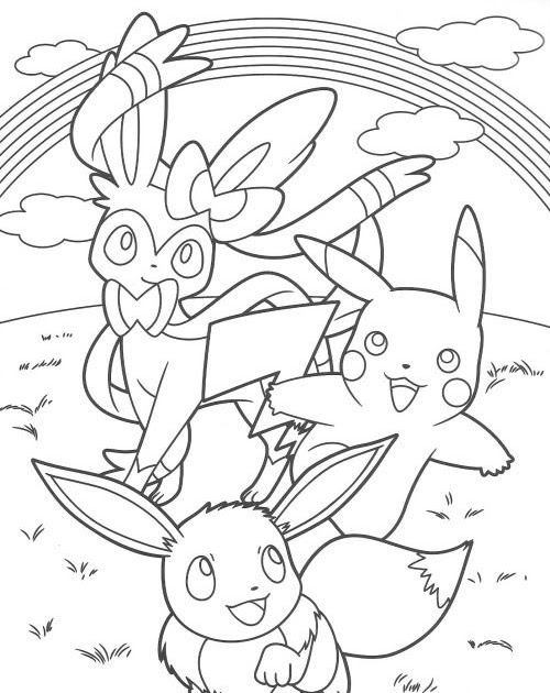 Pokemon Coloring Pages Mime Jr - Jesyscioblin