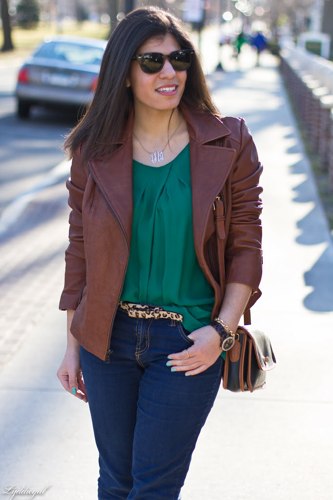 green blouse, brown leather jacket-2.jpg