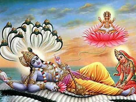 जहां रहते हैं भगवान विष्णु देवी लक्ष्मी के साथ