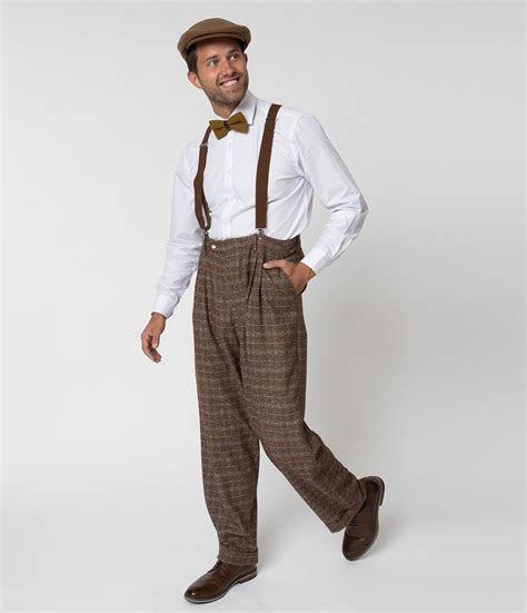 New 1930s Style Men's Pants