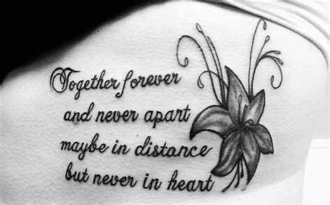 Gone But Not Forgotten Tattoo Quotes