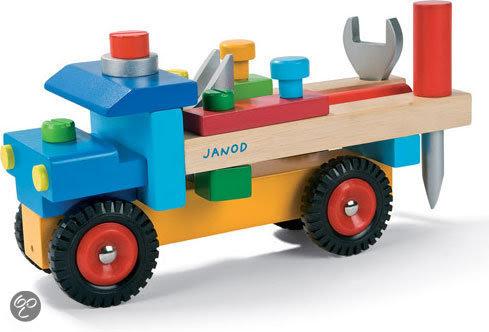 bol.com   Janod Trekfiguur Vrachtwagen met Accessoires ...