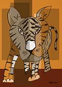 Artist  Singh - Tiger 2 By Artist Singh