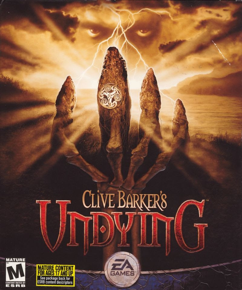 Clive Barker's Undying Game Cover