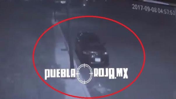 Una captura del vehículo Cafiby la noche de la desaparición de Mara Castilla.