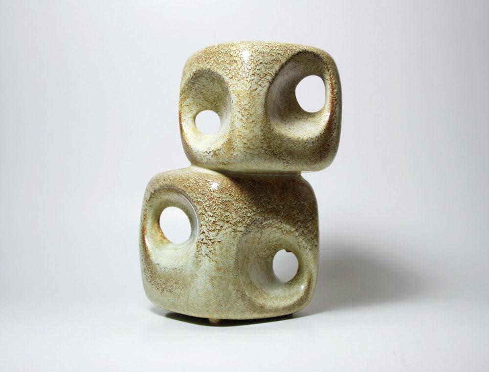 Italian Modern 'Cube' Vase - Bertoncello