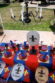 knight birthday party ideas - Google Search