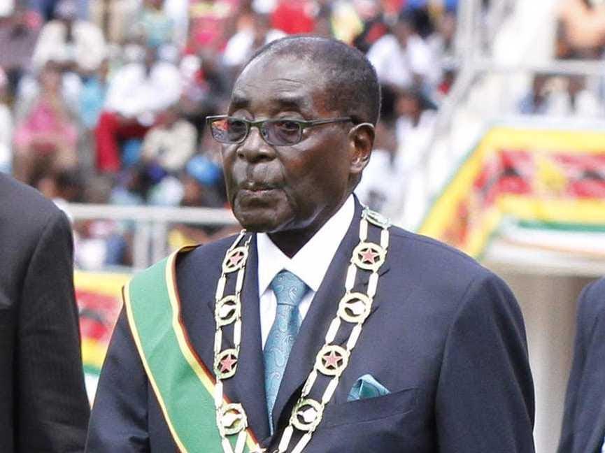 AGE 91: Robert Mugabe
