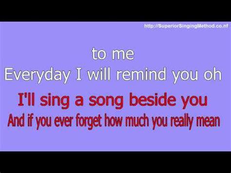 bruno mars count   karaoke  lyrics youtube