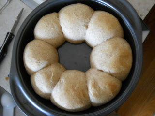 Simple Bread Rolls Ready to Serve