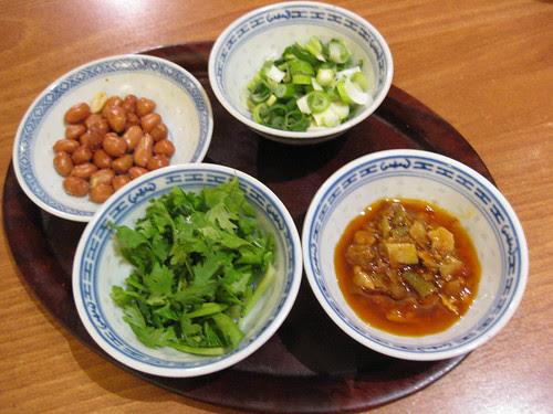 Ho Lee's condiments