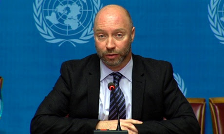 World Health Organization spokesman Glenn Thomas, who is understood to be on the Malaysian Airlines flight MH17 that crashed in eastern Ukraine.