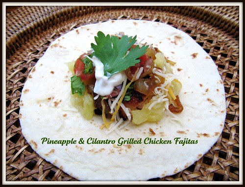 Pineapple and Cilantro Fajitas