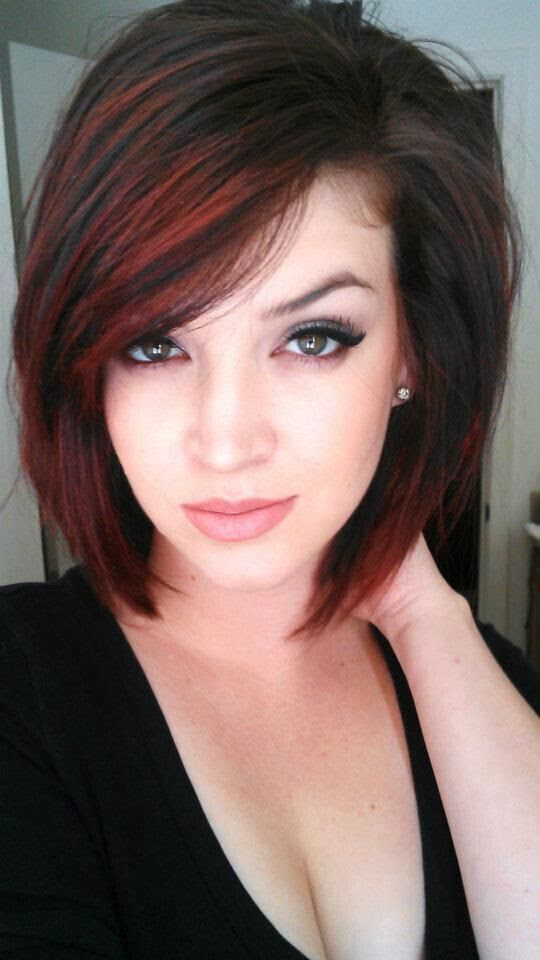Time to Write: Straight Bob Haircut for Ombre Hair